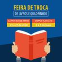 Metodista promove Feira de Livros e Quadrinhos