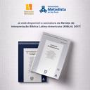 Revista de Interpretação Bíblica Latino-Americana de 2017 está disponível para assinatura