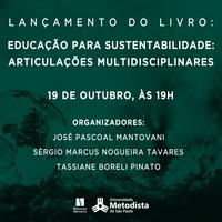 Núcleo de Sustentabilidade realiza live para lançamento de livro